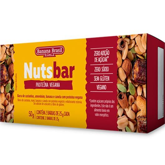 Barra Frutas proteina vegana castanha NutsBar 50g - Imagem em destaque