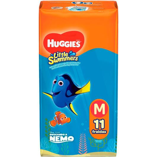 Fralda descartável Little Swimmers MM Huggies - 11 unidades - Imagem em destaque