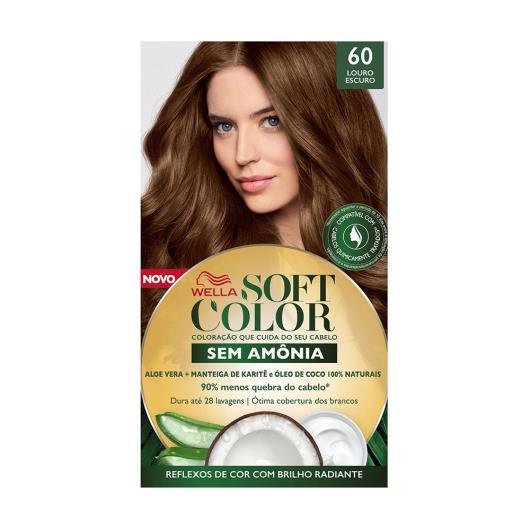 Tinta de Cabelo Soft Color Louro Escuro 60 - Imagem em destaque