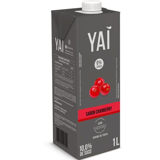 Bebida cramberry Yaí TP 1L - Imagem em destaque