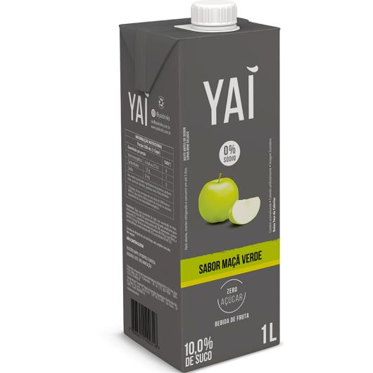 Bebida maçã verde Yaí TP 1L - Imagem em destaque