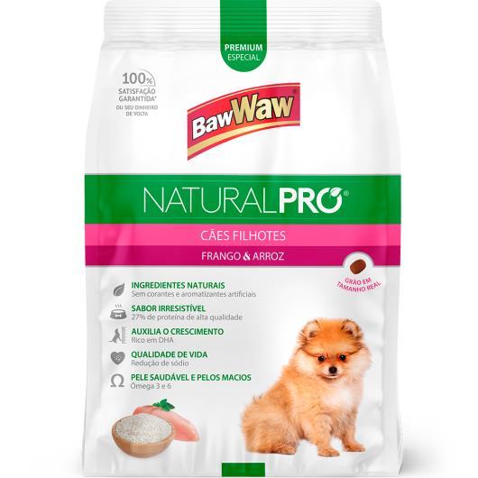 Alimento para cães filhotes Baw Waw Natural Pró frango e arroz 2,5kg - Imagem em destaque