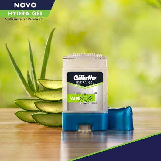 Desodorante Gel Antitranspirante Gillette Hydra Gel Aloe 82g - Imagem em destaque