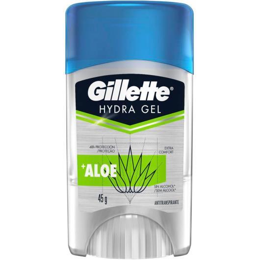Desodorante Gel Antitranspirante Gillette Hydra Gel Aloe 45g - Imagem em destaque