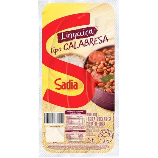 Linguiça calabresa defumada Sadia 500g - Imagem em destaque