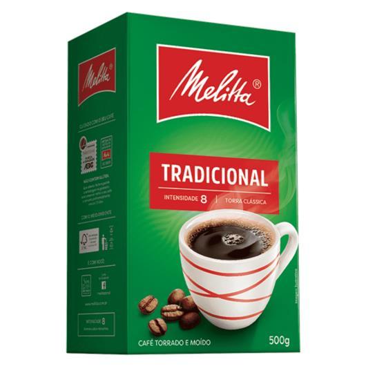 Café Melitta Tradicional à Vácuo 500g - Imagem em destaque