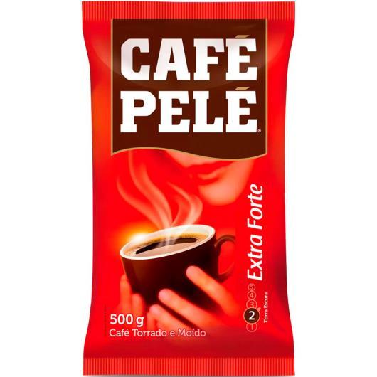 Café Pelé extra forte almofada 500g - Imagem em destaque