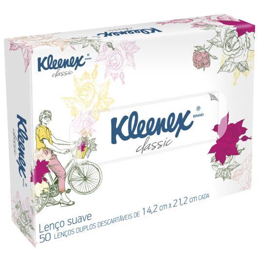 Lenço Kleenex proteção caixa decorada com 50 unidades - Imagem em destaque
