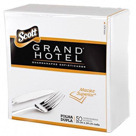 Guardanapo Scott grand hotel 24x24 com 50 unidades - Imagem em destaque