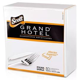 Guardanapo Scott  grand hotel 33x33 com 50 unidades