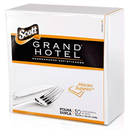 Guardanapo Scott  grand hotel 33x33 com 50 unidades - Imagem em destaque
