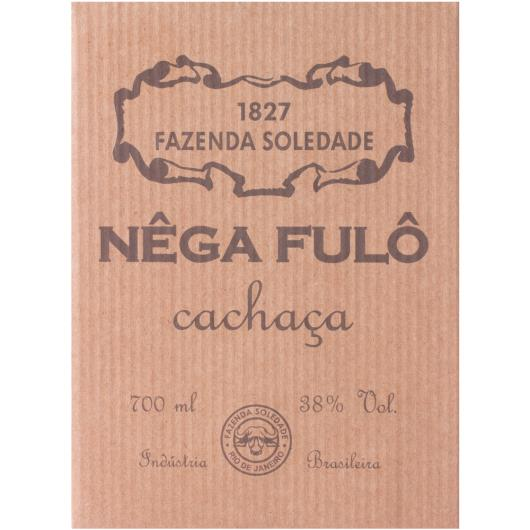 Aguardente Nêga Fulô terracota 700ml - Imagem em destaque
