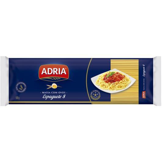 Macarrão Adria com ovos espaguete nº 8 500g - Imagem em destaque