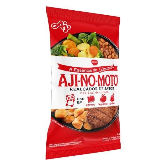 Realçador de Sabor Umami Aji-No-Moto Pacote 36g 12 Unidades - Imagem em destaque