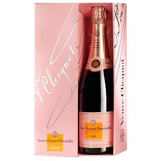 Champagne Francês Veuve Clicquot Ponsardin Rosé 750ml - Imagem em destaque