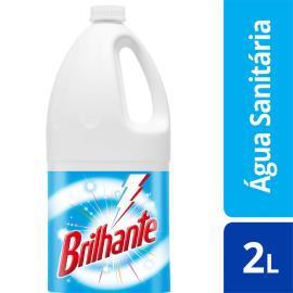 Água Sanitária Brilhante  Cloro Ativo 2L
