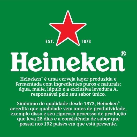 Cerveja Heineken lata 350ml - Imagem em destaque