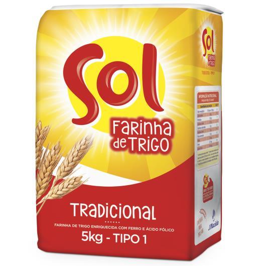 Farinha de trigo Sol Tipo 1 1kg - Imagem em destaque
