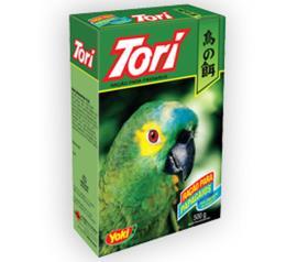 Ração para papagaios Tori 500g