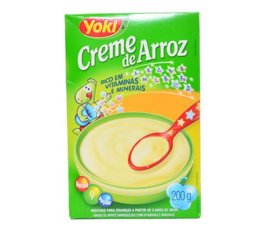 Creme Yoki de arroz 200g - Imagem em destaque