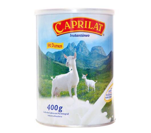 Leite em pó Caprilat  integral lata 400g - Imagem em destaque