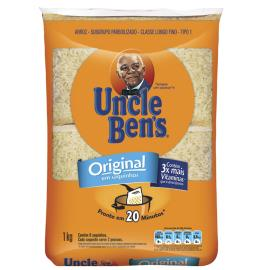 Arroz tipo 1 Uncle Ben's saquinho 1kg