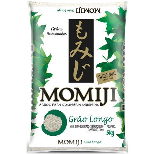 Arroz Momiji tipo 1 longo 5kg - Imagem em destaque