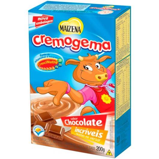 Cremogema Maizena sabor chocolate 200g - Imagem em destaque