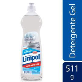 Detergente em gel Limpol cristal 511g