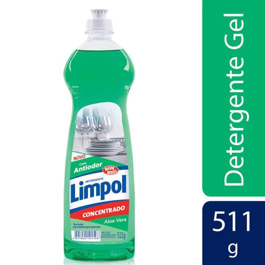 Detergente em gel Limpol aloe vera 511g - Imagem em destaque