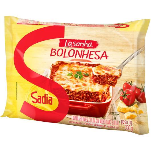 Lasanha Sadia Bolonhesa Mini 350g - Imagem em destaque