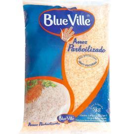 Arroz parboilizado tipo 1 Blue Ville 5kg