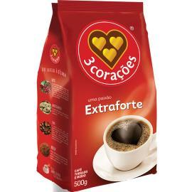 Café extra forte 3 Corações 500g