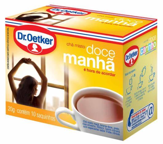 Chá doce manhã Oetker 30g - Imagem em destaque
