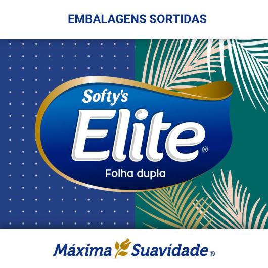 LENÇO DE PAPEL ELITE SOFTY'S MÁXIMA SUAVIDADE 150 FLS - Imagem em destaque