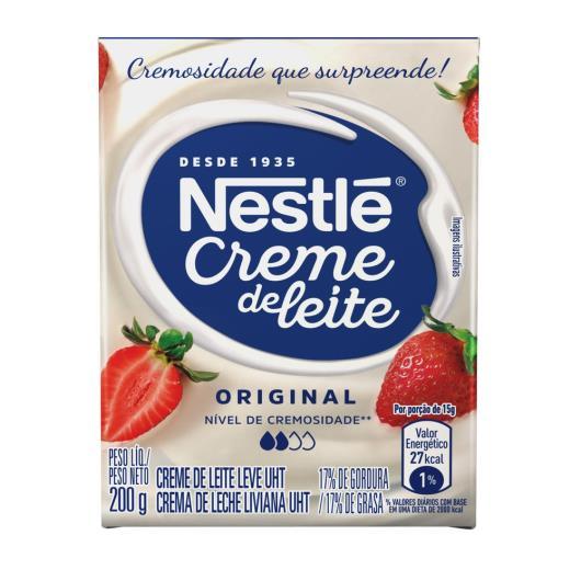 Creme de Leite Nestlé tradicional UHT 200g - Imagem em destaque