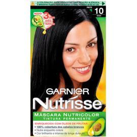 Tintura Garnier Nutrisse 10 ônix