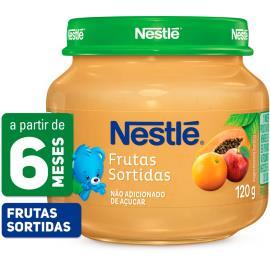PAPINHA Nestlé Frutas Sortidas Pote 120g