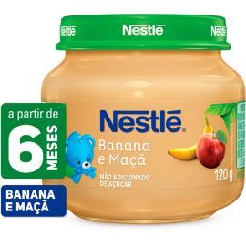 PAPINHA Nestlé Banana e Maçã Pote 120g
