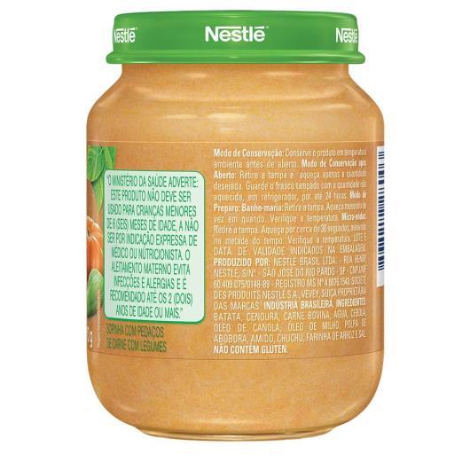 PAPINHA Nestlé Legumes e Carne Pote 170g - Imagem em destaque