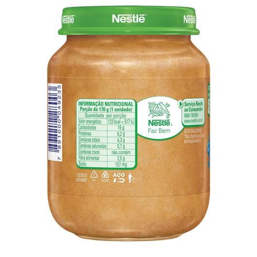 PAPINHA Nestlé Caldo de Feijão Carne e Arroz Pote 170g - Imagem em destaque