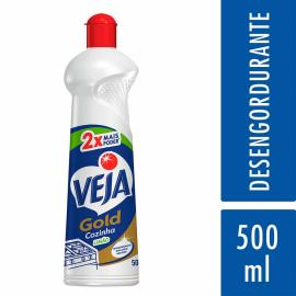 Limpador desengordurante Limão Veja 500 ml