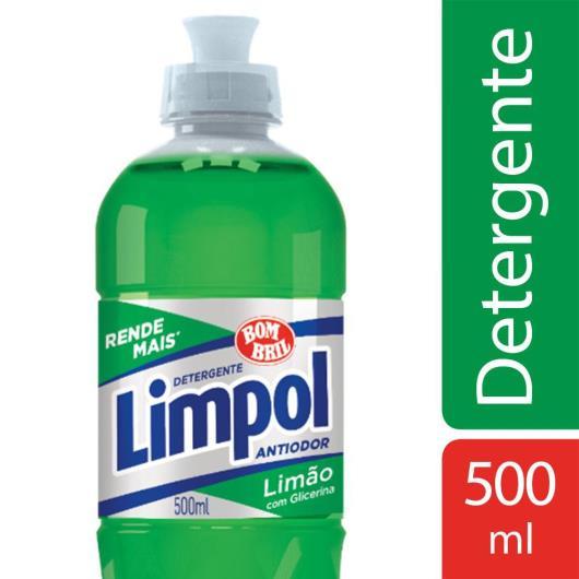 Detergente líquido Limpol limão 500ml - Imagem em destaque