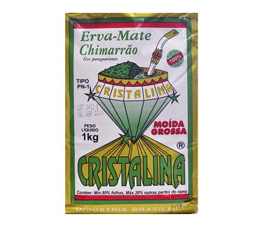 Erva Cristalina moída grossa mate 1kg - Imagem em destaque