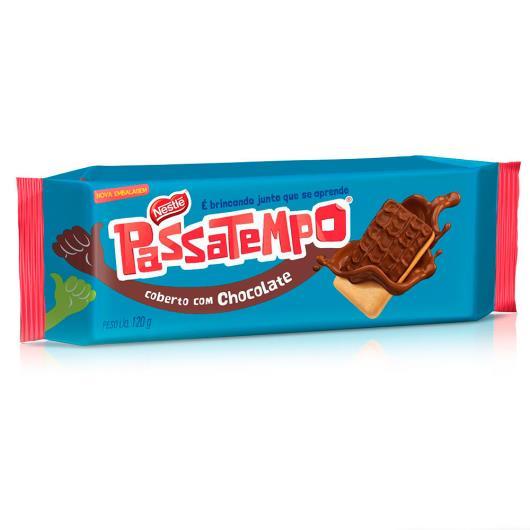 NESTLÉ Passatempo Biscoito Coberto com Chocolate 120g - Imagem em destaque