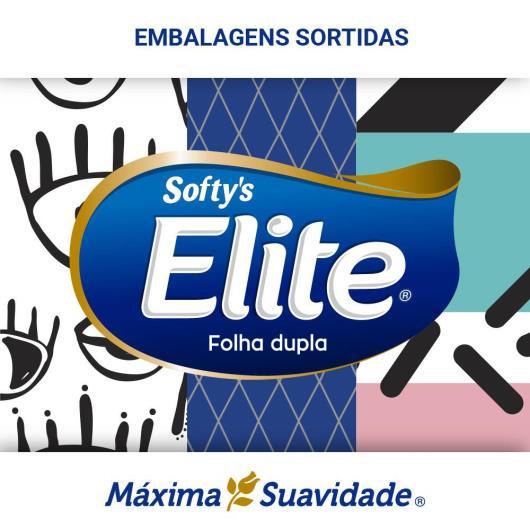 LENÇO DE PAPEL ELITE SOFTY'S MÁXIMA SUAVIDADE 100 FLS - Imagem em destaque
