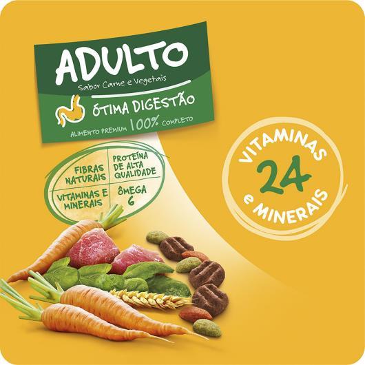 Alimento para Cães Adultos Raças Médias e Grandes Carne e Vegetais Pedigree 10,1kg - Imagem em destaque