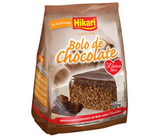 Mistura para bolo Hikari sabor chocolate 400g - Imagem em destaque