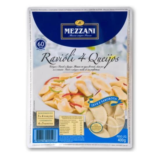 Ravioli 4 queijos Mezzani 400g - Imagem em destaque