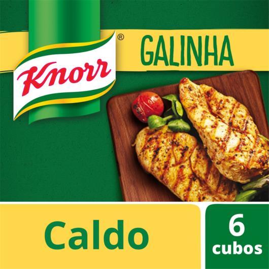 Caldo Knorr galinha 6 cubos 57g - Imagem em destaque